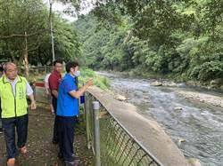 大豹溪屢傳意外 三峽區長視察遊樂業者防範措施