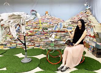 關心地球環境!千冊「漂書山」、廢棄推車變陪讀椅
