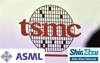半導體業3大王者:台積電、ASML、信越 各據一方