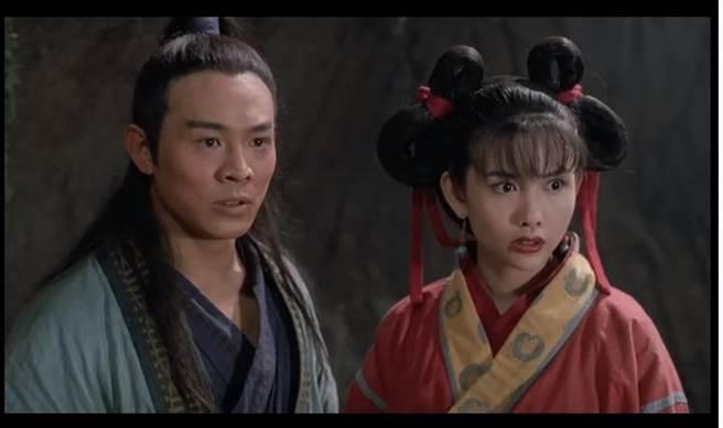 邱淑貞當年在片中飾演小昭堪稱經典。(取自網路)