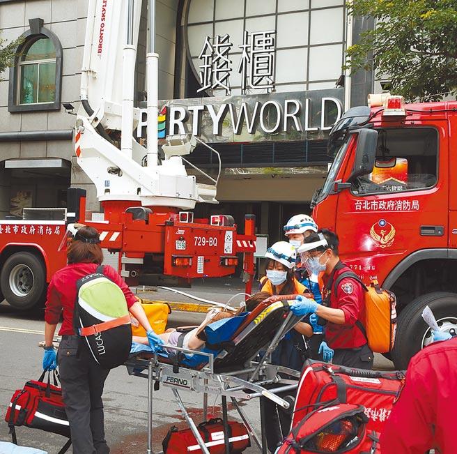 台北市林森北路錢櫃KTV大火,奪走6條人命。(本報資料照片)