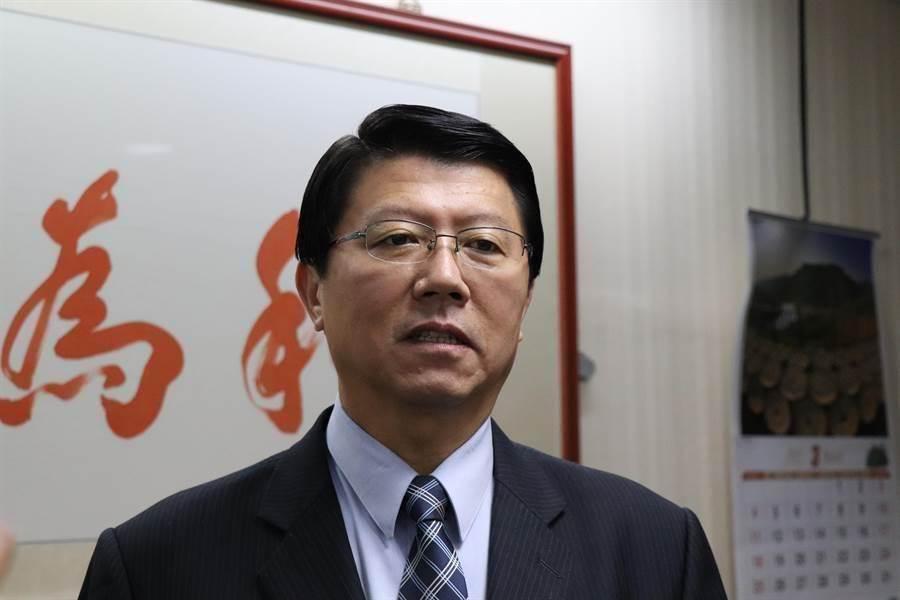 國民黨台南市議員謝龍介。(中時資料照)