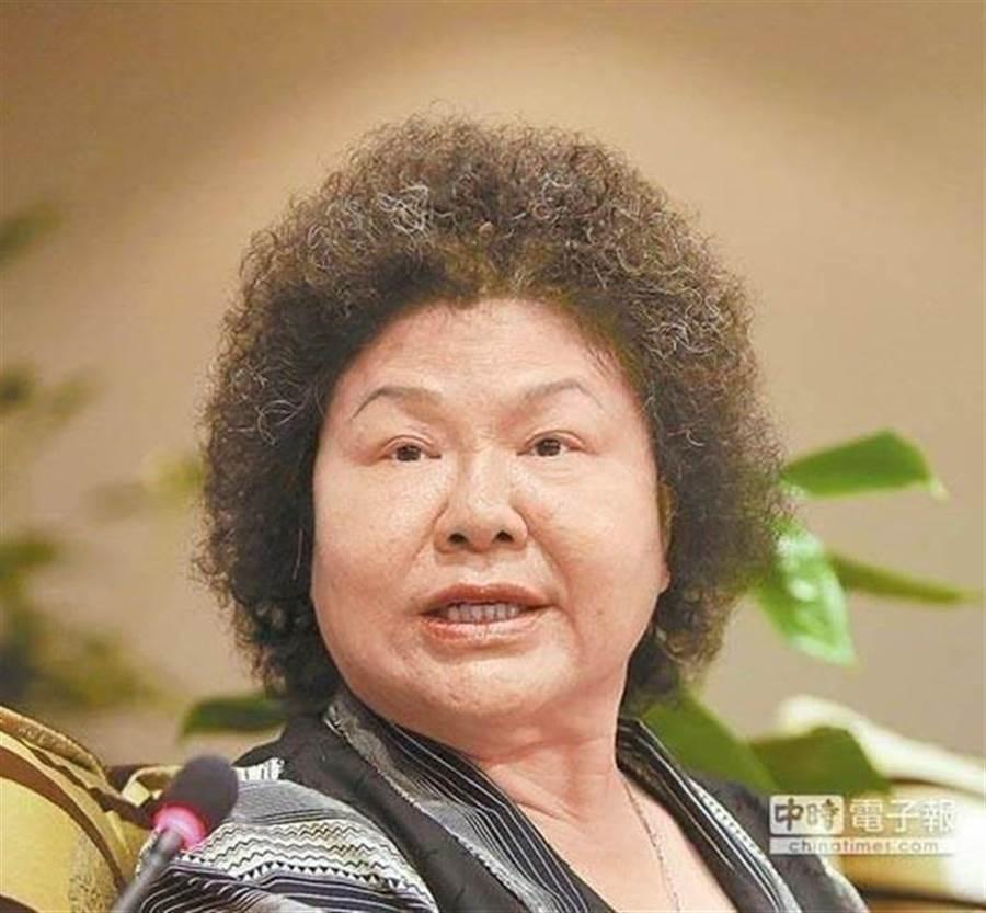 前高雄市長陳菊。(圖/本報資料照)