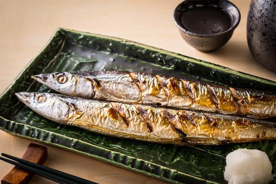 秋刀魚內臟超苦怎麼吃?老饕揭回甘吃法(示意圖/達志影像)