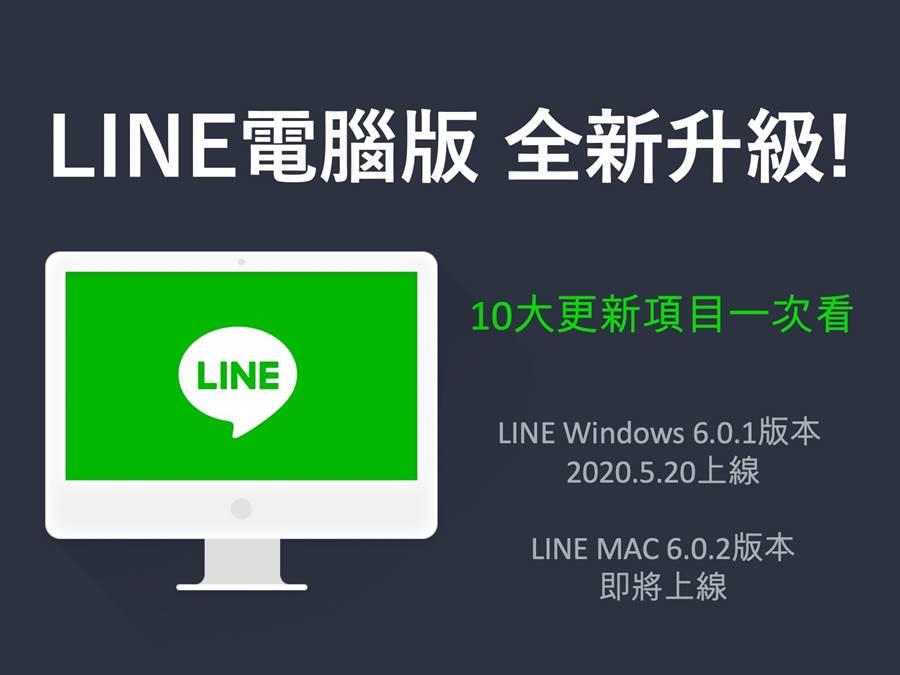 LINE 電腦版雙平台(Windows 以及 Mac)都將迎來大幅更新。(摘自LINE Blog)