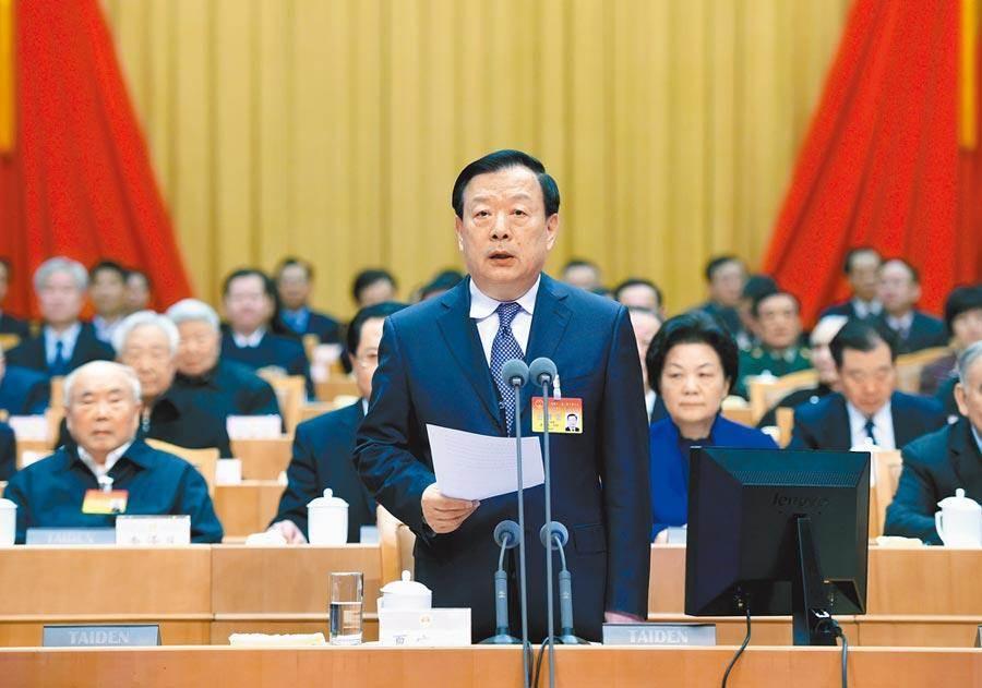 全國政協副主席兼港澳辦主任夏寶龍。(中新社)