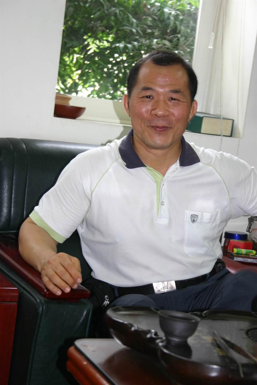 刑大副隊長林世明調陞交通警察隊隊長。(吳敏菁攝)