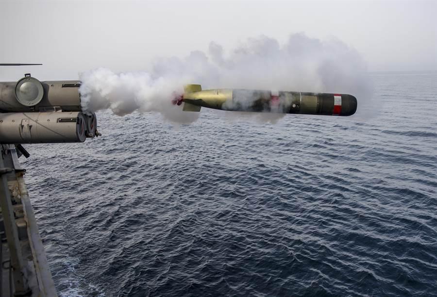 美國國務院日前宣布批准對台軍售案,其中包括18枚MK48重型魚雷。(圖/中時資料照片)