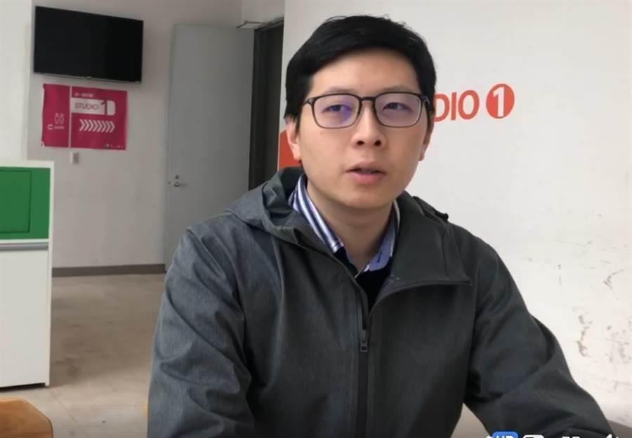 民進黨桃園市議員王浩宇。(中時資料照)