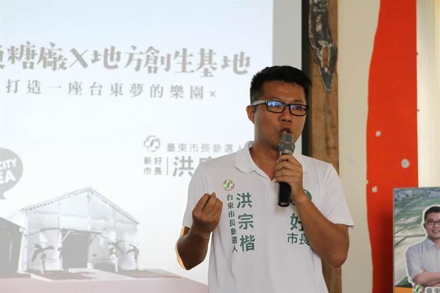 洪宗楷接任東辦執行長。(資料照片/楊漢聲攝)