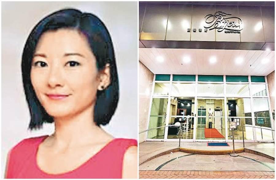 前TVB主播郭麗婷被男友發現於住家燒炭。(取自東網)