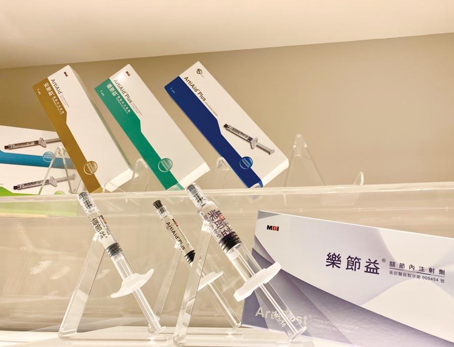 和康生技的一劑型關節注射劑在本月已取得台灣健保核價。圖/江偉琳