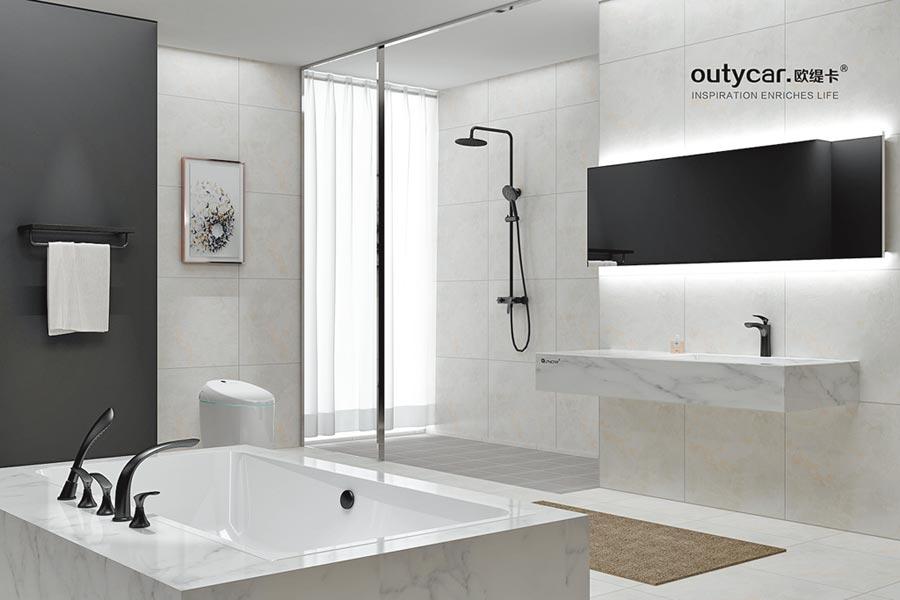 來自義大利設計師衛浴新品牌Outycar歐緹卡,用藝術的理念創造生活。圖/業者提供
