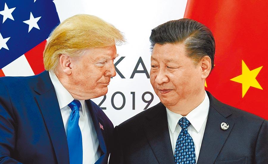 美國總統川普升高對於大陸的抨擊,並且不再和大陸領導人習近平以好朋友相稱。(路透)
