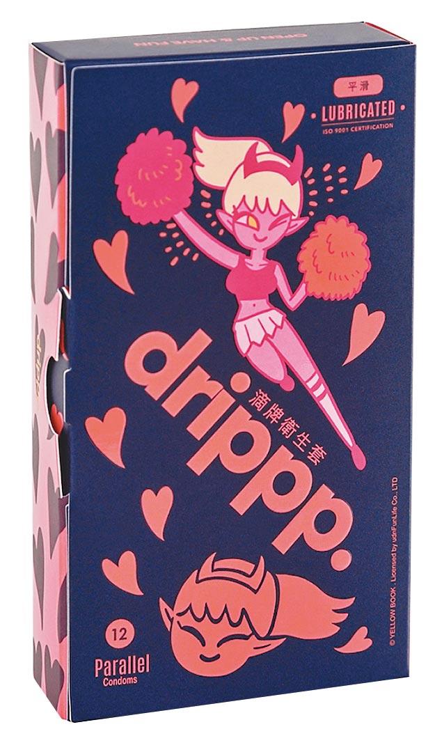 蝦皮購物的保險套銷售冠軍drippp.滴牌衛生套平滑型12入,229元。(蝦皮購物提供)