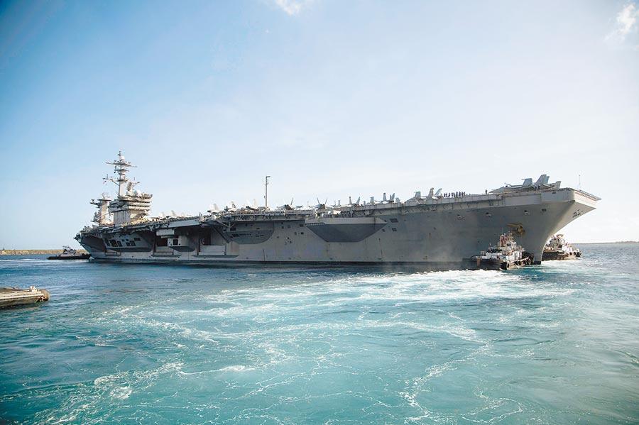 受新冠疫情影響的美國「羅斯福號」航母終於在5月21日恢復出海。(取自美國海軍官網)