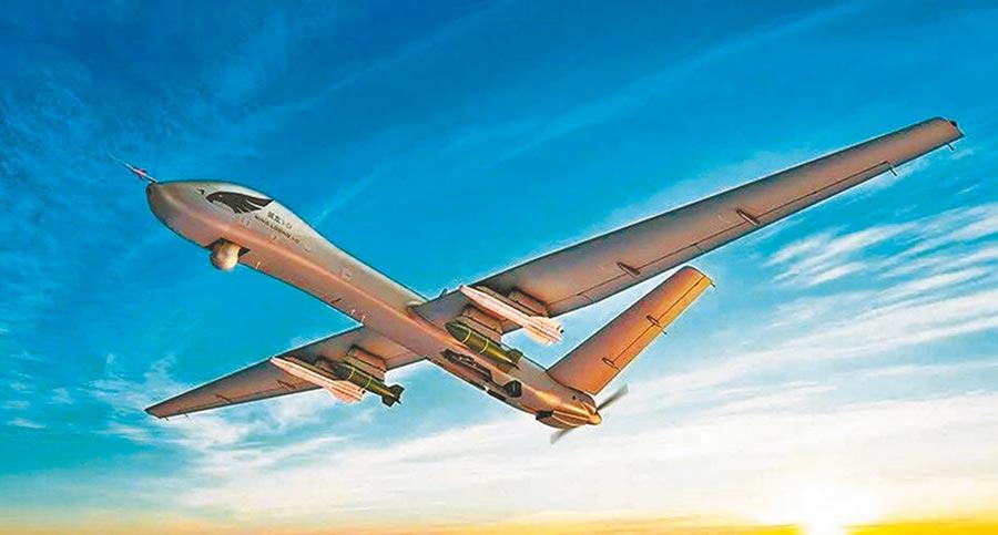 陆制翼龙无人机。(取自新浪微博@中国航空工业集团有限公司)