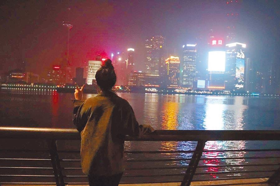我在上海,兩人卻沒能相見。(作者提供)