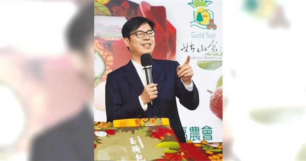 韓國瑜若遭罷免,陳其邁回鄉,行政院副院長以降的位子,還有機會大風吹。(張鎧乙攝)