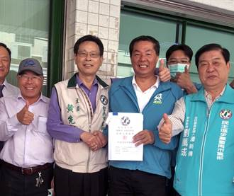 民進黨台南市黨部主委選舉  市長派對戰正國會
