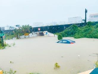 雨炸南台 多處淹水 山區停電