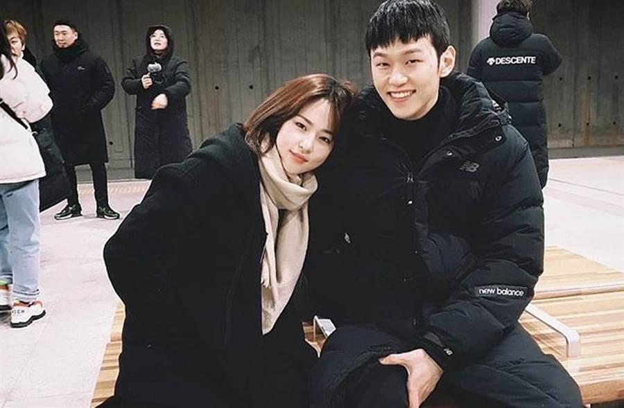 沈恩宇與李學周在劇中飾演情侶。(圖/沈恩宇IG)