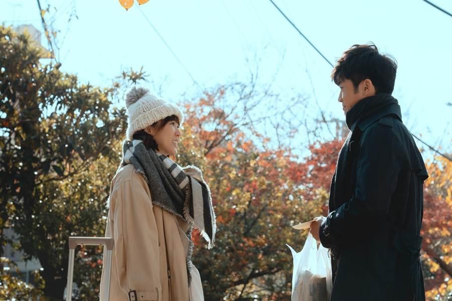 林紹謙在劇中特地飛到日本送錢給孫可芳。(華視提供)