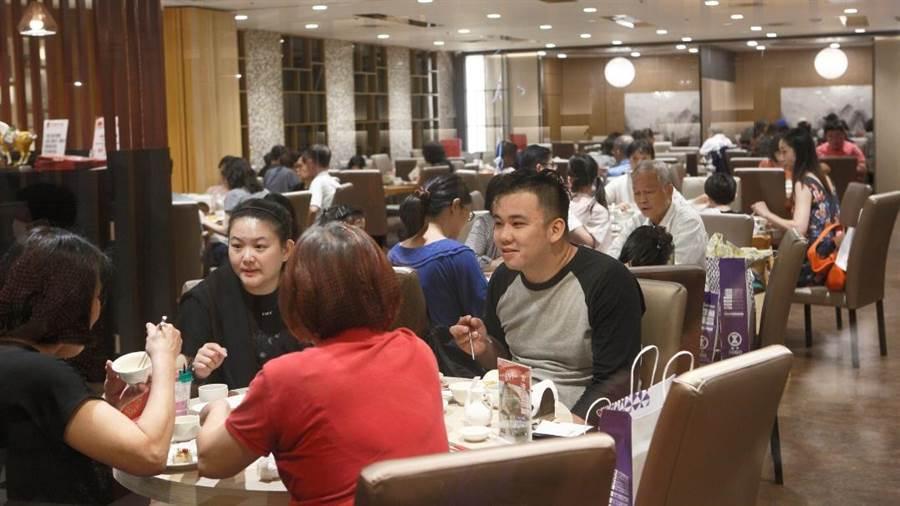 示意圖為SOGO台北店美食街、主題餐廳。(資料照 張鎧乙攝)