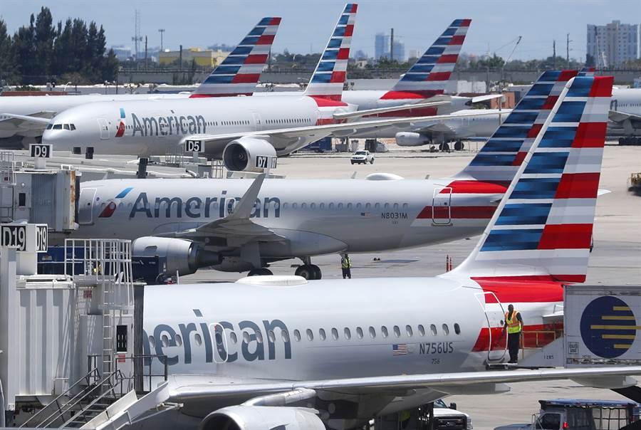 美國運輸部指控中國大陸阻撓美國的航空公司恢復飛往大陸的航班。(圖/美聯社)