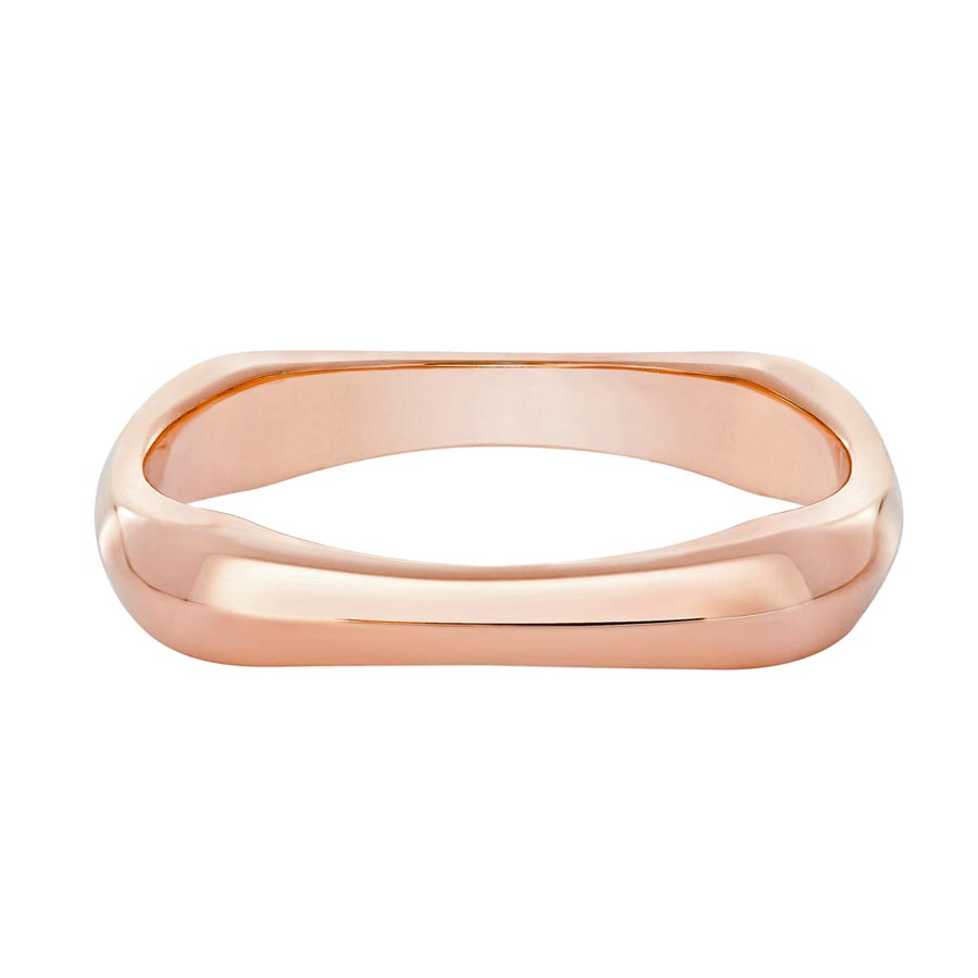 FRED在婚季主打Bridal系列玫瑰金鑲鑽戒指,3萬4800元。(FRED提供)