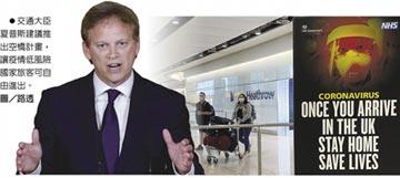 英要求入境旅客隔離14天 航空業強烈反彈