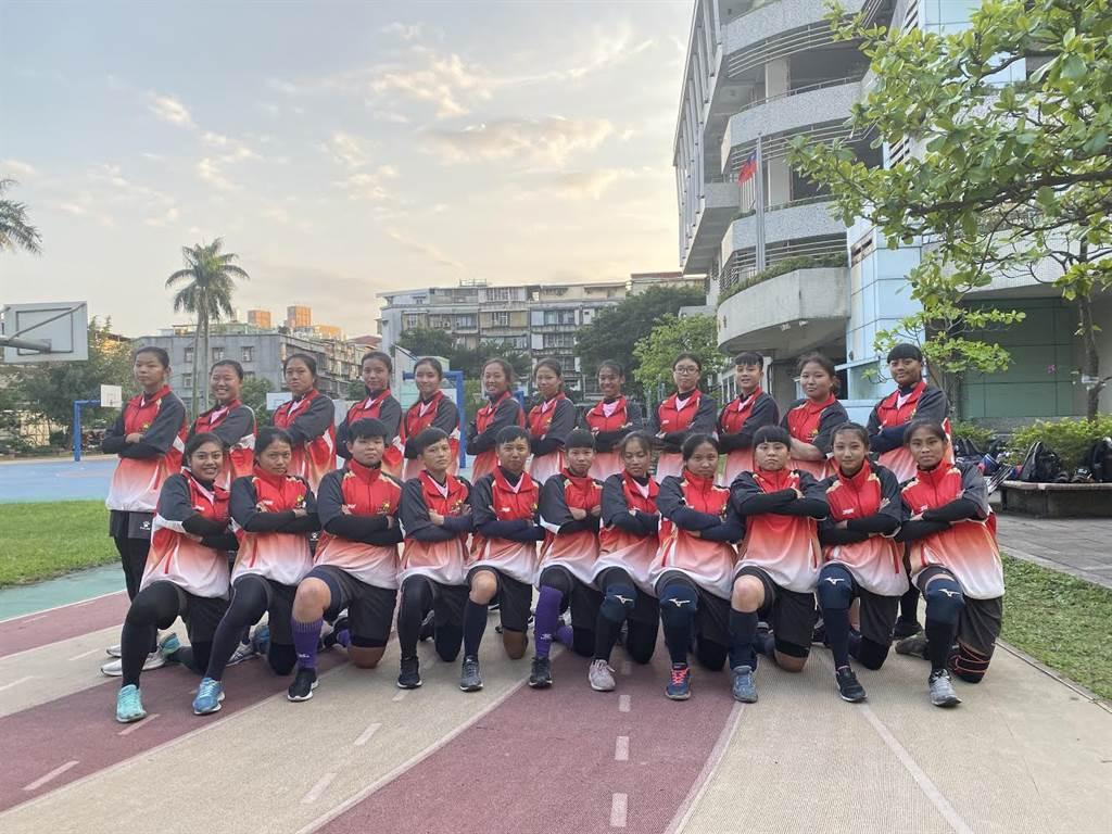 華江高中女子棒球隊成軍,加入高中聯賽女子組。(學生棒聯提供/廖德修台北傳真)