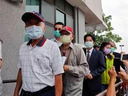民進黨黨職選舉 賴清德台南排隊投票
