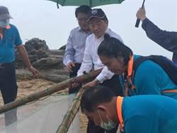 冒雨了解漁撈工作 陳時中:非常好的生態旅遊