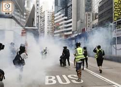 港警施放催淚彈 逾80人銅鑼灣被捕