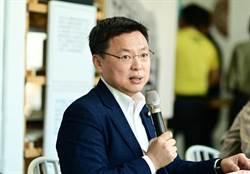 趙天麟臉書宣布當選民進黨高雄市黨部主委