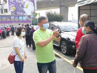 因應防疫!民進黨台中市黨部黨職選舉 首次規定投票戴口罩