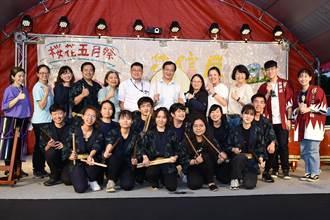 靜宜大學櫻花5月祭「花信風」開幕 展現日本文化與學習成果