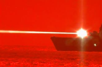 美軍「波特蘭號」雷射打擊 成功擊落靶機