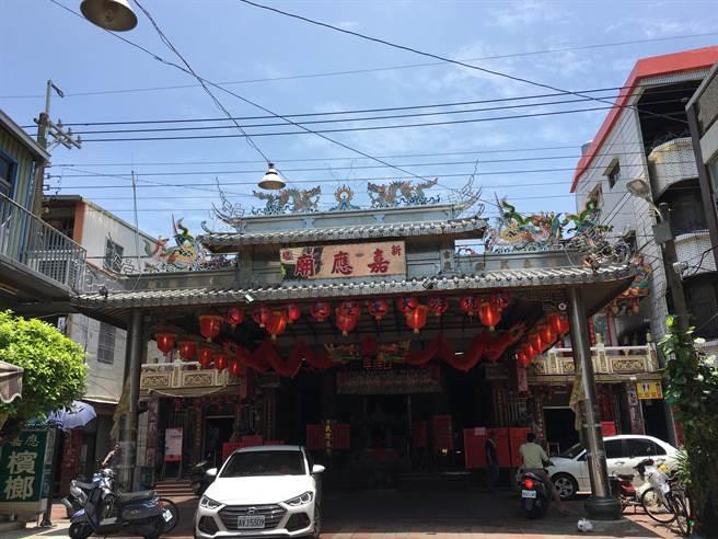 新塭嘉應廟8月將舉行百年首次跨域遶境「南巡北狩」。(張亦惠攝)