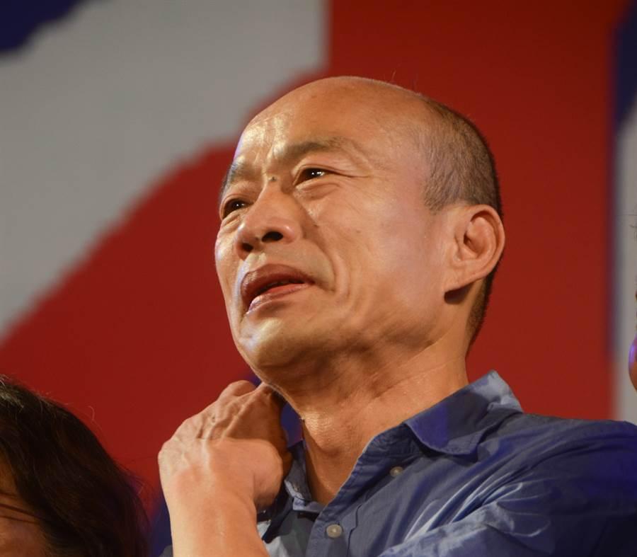 韓國瑜過去競選高雄市長曾在岡山、旗山等地舉辦過三山造勢。(圖/本報資料照)