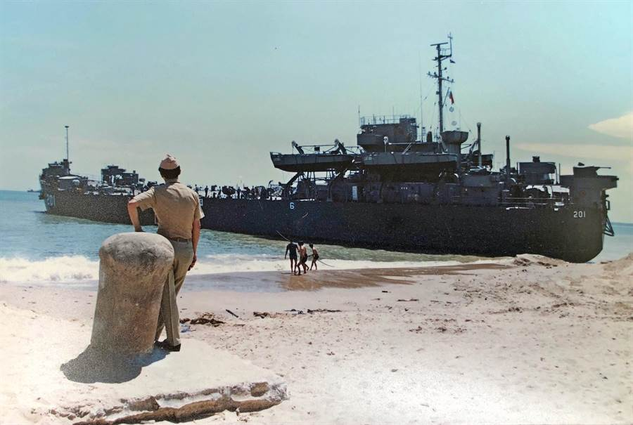 中海艦是海軍唯一現存功勳艦,海軍評估大修約需2億3000萬元。(李金生攝)