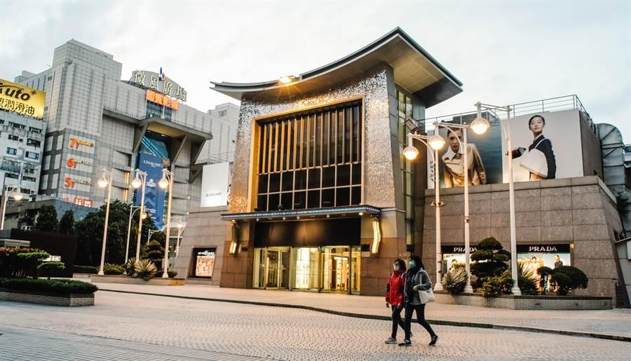 台北微風廣場驚傳砍人事件。(中時資料照 郭吉銓攝)