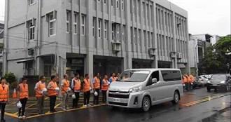 巡視雨後道路撞橋墩身亡 台東公路總局列隊致敬