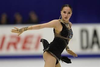 俄羅斯18歲花式滑冰美少女當選IOC時尚偶像
