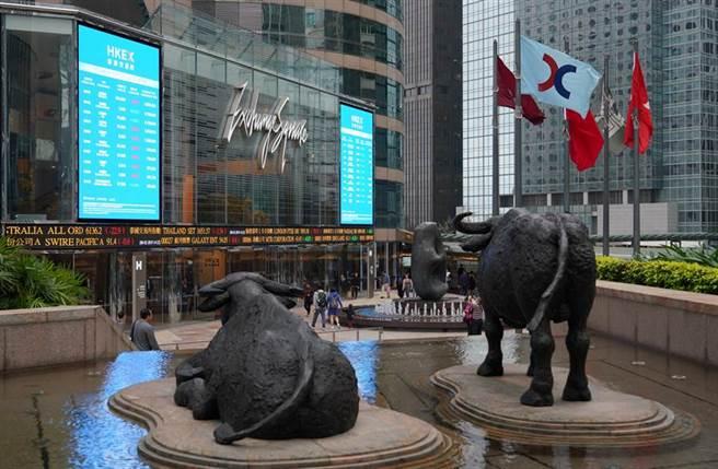 新全球第四大股市──香港股市的風險正在上升!圖/中新社