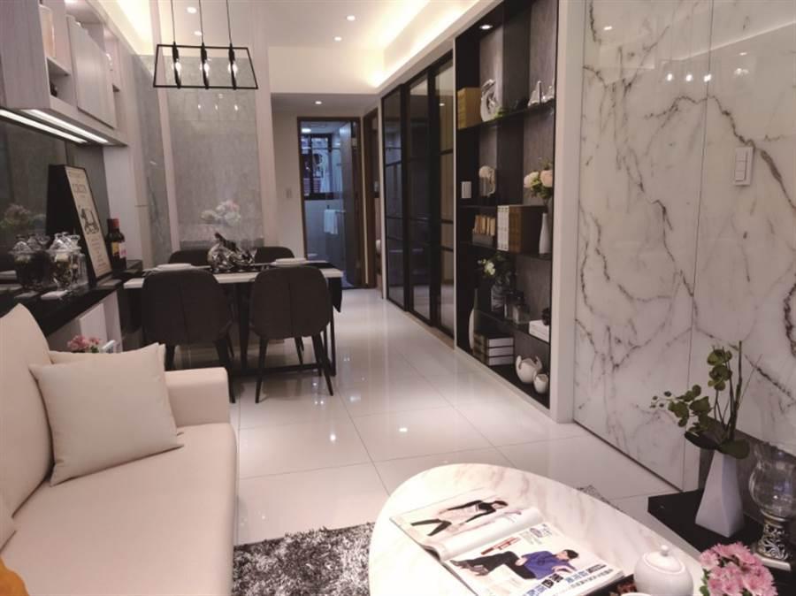 以30年經驗打造高規格「欣聯詠心」請來知名建築師簡俊欽打造,讓消費者住得舒適、住得漂亮。/圖片業者提供
