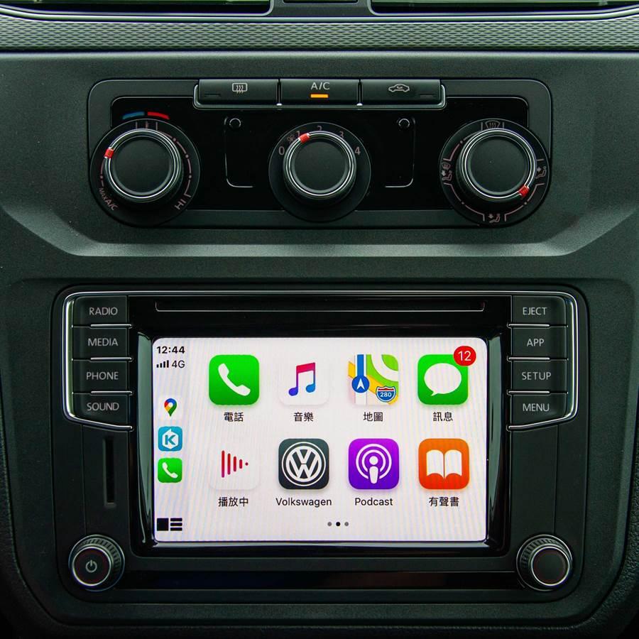 APP-Connect支援Apple CarPlay(見圖)及Android Auto功能。(陳大任攝)