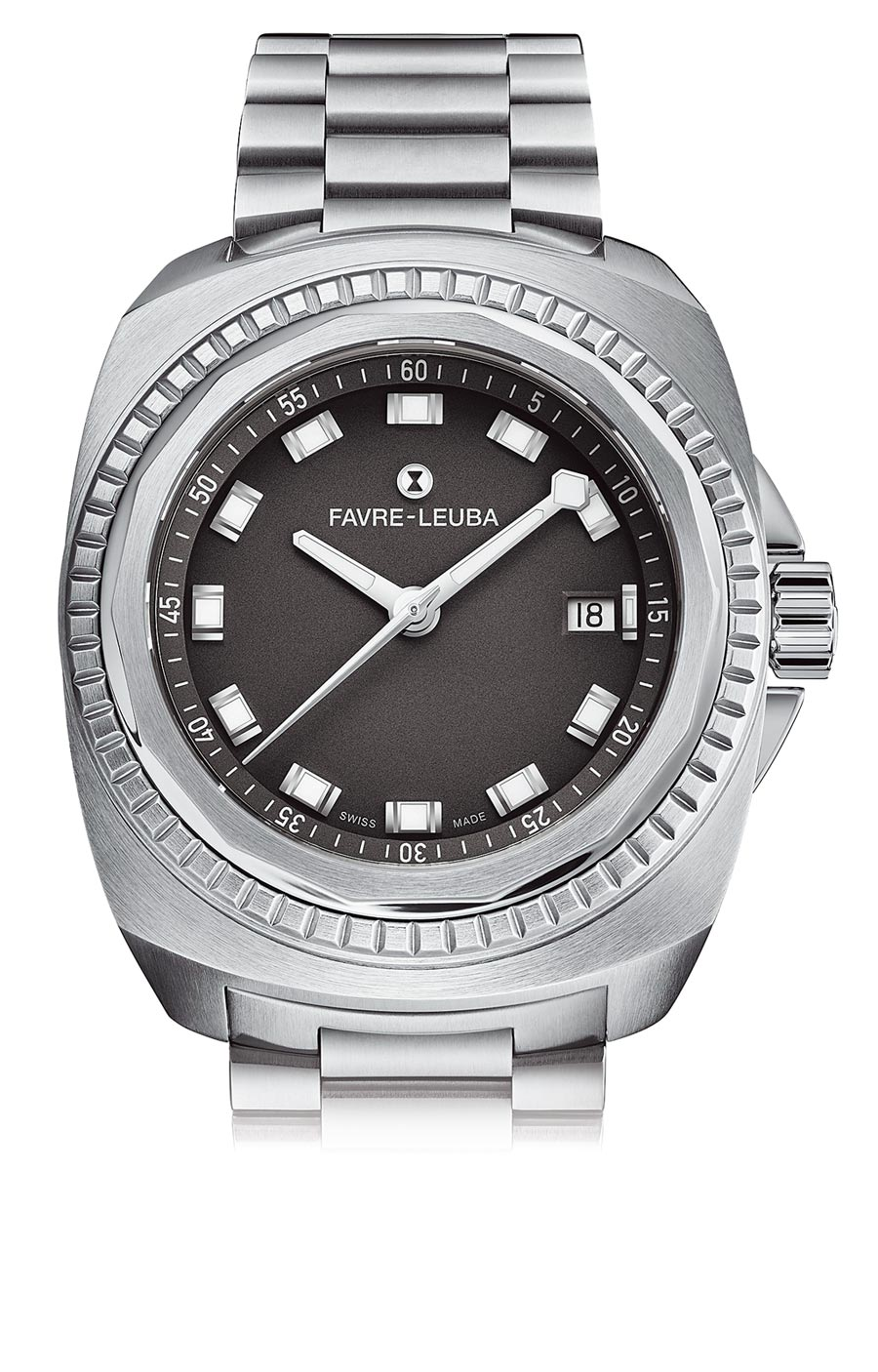 域峰表Raider King自動上鏈腕表,5萬5000元。(瑞博品提供)