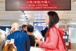 入境比照大陸人 反嚇到香港人